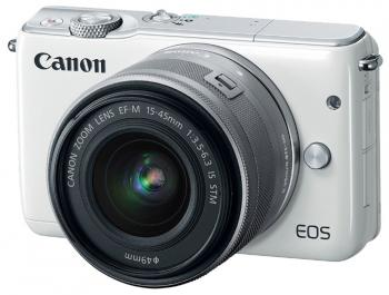 Фотоаппарат Canon EOS M10 15-45IS STM белый