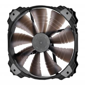 Вентилятор Deepcool XFAN 200BL 200x200x32 3pin 26.3dB 700rpm 300g синий LED