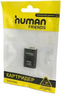 Картридер внешний CBR Human Friends Speed Rate Futuric Black MicroSD/T-Flash