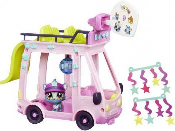 "Игровой набор HASBRO Littlest Pet Shop ""Автобус"" B3806"