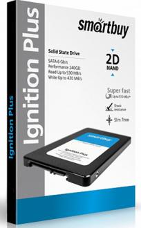 "Твердотельный накопитель SSD 2.5"" 120GB Smartbuy Ignition PLUS Read 560Mb/s Write 465Mb/s SATA SB120GB-IGNP-25SAT3"