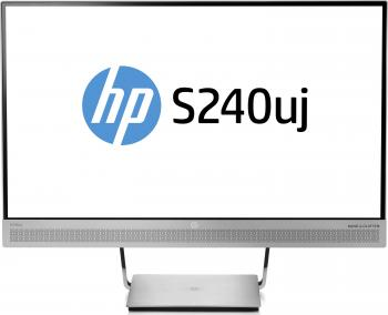 Монитор HP EliteDisplay S240uj серебристый