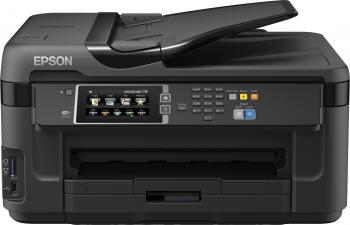 МФУ Epson WorkForce WF-7610DWF цветное А3 32/20ppm 4800x2400dpi Ethernet USB Wi-Fi C11CC98302