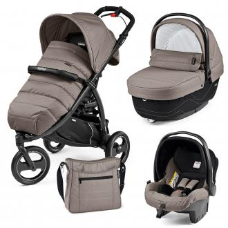 Коляска 3-в-1 Peg-Perego Book Cross (bloom beige)