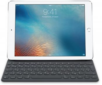 Клавиатура Apple Smart Keyboard for 9.7-inch iPad Pro черный MNKR2RS/A из ремонта