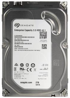 "Жесткий диск 3.5"" 2Tb 7200rpm Seagate Enterprise Capacity SATAIII ST2000NM0008"