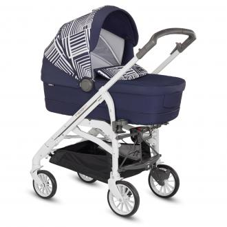 Коляска 3-в-1 Inglesina Trilogy System Optical на шасси Trilogy City White (AA35H6ONV + AE38H3232S/цвет navy)
