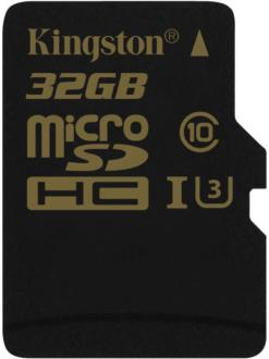 Карта памяти Micro SDHC 32GB Class 10 Kingston SDCG/32GBSP