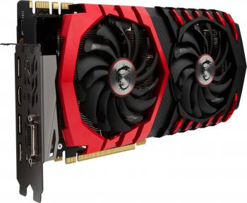 Видеокарта 8192Mb MSI GeForce GTX 1080 GAMING X+ 8G PCI-E 256bit GDDR5X DVI HDMI DP HDCP Retail