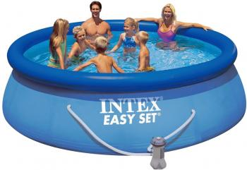Надувной бассейн INTEX Easy Set 457х107 см