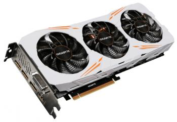 Видеокарта 11264Mb Gigabyte GeForce GTX1080Ti PCI-E HDMI DP DVI HDCP GV-N108TGAMING OC-11GD Retail