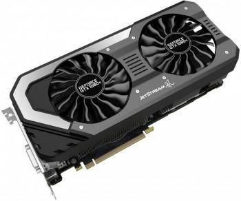 Видеокарта 11264Mb Palit GeForce GTX1080 Ti Super Jetstream 11G PCI-E 352bit GDDR5X DVI HDMI DP HDCP NEB108TS15LC-1020J Retail