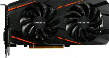 Видеокарта 4096Mb Gigabyte RX 580 PCI-E HDMI DP DVI HDCP GV-RX580GAMING-4GD Retail