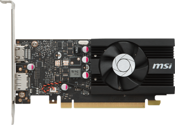 Видеокарта 2048Mb MSI GeForce GT1030 PCI-E GDDR5 64bit HDMI DP HDCP GT 1030 2G LP OC Retail