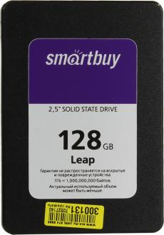 "Твердотельный накопитель SSD 2.5"" 128GB Smartbuy Leap Read 500Mb/s Write 400Mb/s SATAIII SB128GB-LP-25SAT3"