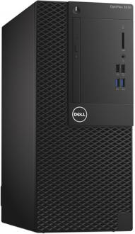 Системный блок DELL Optiplex 3050 MT i5-6500 3.2GHz 4Gb 500Gb HD530 DVD-RW Win7pro Win10Pro клавиатура мышь серебристо-черный 3050-0368