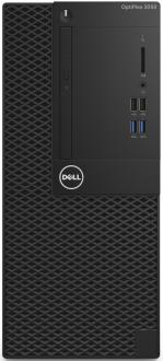 Системный блок DELL Optiplex 3050 MT i3-7100 3.9GHz 4Gb 500Gb HD630 DVD-RW Win10Pro клавиатура мышь серебристо-черный 3050-0351