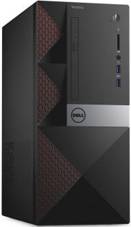 Системный блок DELL Vostro 3667 MT G4400 3.3GHz 4Gb 500Gb HD510 DVD-RW Win7Pro Win10Pro клавиатура мышь черный 3667-7499