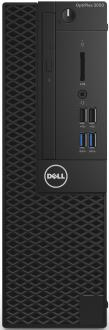 Системный блок DELL OptiPlex 3050 SFF i3-6100 3.7GHz 4Gb 500Gb HD620 DVD-RW Linux клавиатура мышь черный 3050-0405