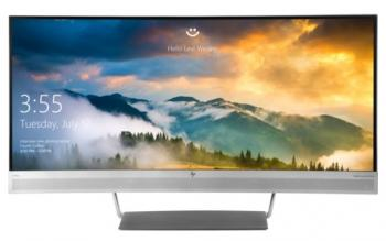 Монитор HP EliteDisplay S340c черный