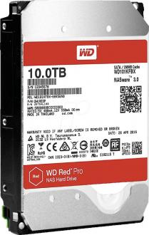 "Жесткий диск 3.5"" 10Tb 7200rpm Western Digital Red Pro SATAIII WD101KFBX"