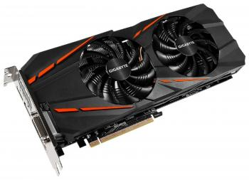 Видеокарта 6144Mb Gigabyte GeForce GTX1060 G1 Gaming PCI-E 192bit GDDR5 DVI HDMI DP GV-N1060G1 GAMING-6GD OEM, без комплекта, из ремонта