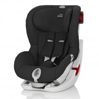Автокресло Britax Romer King II Black Series (cosmos black trendline)