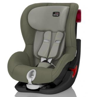 Автокресло Britax Romer King II Black Series (olive green trendline)