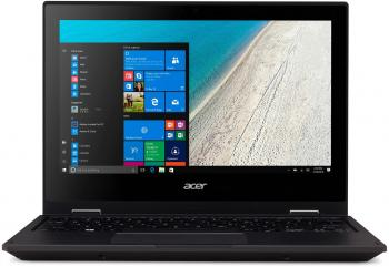 "Ноутбук Acer TravelMate TMB118-RN-C8Q3 Celeron N3350/4Gb/32Gb/Intel HD Graphics/11.6""/IPS/Touch/FHD (1920x1080)/Windows 10 Professional 64/black/WiFi/BT/Cam"