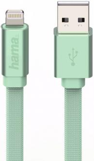 Кабель Hama H-178206 Lightning-USB 2.0 для Apple iPhone 5/5c/5S/6/6+/6s/6s+/SE для Apple iPad mini/Air зеленый 1м