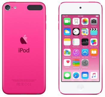 Плеер Apple iPod touch 128Gb MKWK2RU/A розовый