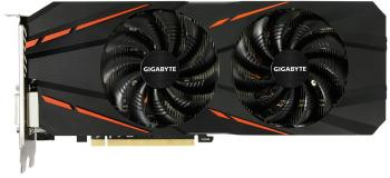 Видеокарта 3072Mb Gigabyte GeForce GTX1060 PCI-E 192bit GDDR5 DVI HDMI DP GV-N1060G1GAMING-3GD 2.0 Retail