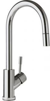 Смеситель Villeroy & Boch Umbrella Flex  LC stainless steel massive серебристый 925400LC