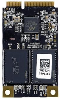 Твердотельный накопитель SSD mSATA 128GB Smartbuy Read 460Mb/s Write 280Mb/s SB128GB-NV113D-MSAT
