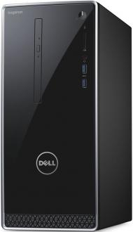 Системный блок DELL Inspiron 3668 i7-7700 3.6GHz 12Gb 1Tb GTX1050-2Gb DVD-RW Win10SL клавиатура мышь серый 3668-2254