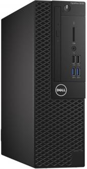 Системный блок DELL Optiplex 3050 i5-6500 3.2GHz 8Gb 256Gb SSD HD530 DVD-RW Win7Pro Win10Pro клавиатура мышь черный 3050-8147