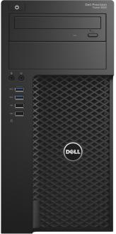 Системный блок DELL Precision 3620 i5-6500 3.2GHz 4Gb 1Tb HD530 DVD-RW Win10Pro черный 3620-4414
