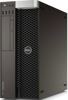 Системный блок DELL Precision T5810 E5-1620v4 3.5GHz 16Gb 4Tb DVD-RW Win7Pro Win10Pro черный 5810-4537