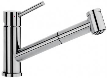 Смеситель Villeroy & Boch Como Switch  LE stainless steel massive polished серебристый 927200LE