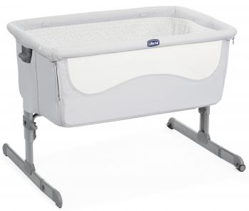 Кроватка Chicco Next2me (light grey)
