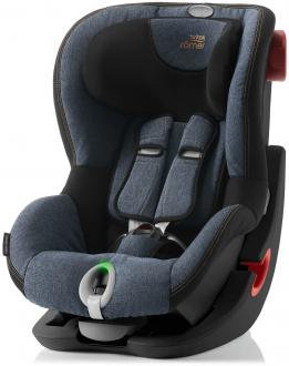 Автокресло Britax Romer King II LS Black Series (blue marble)