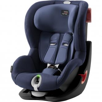 Автокресло Britax Romer King II LS Black Series (moonlight blue)