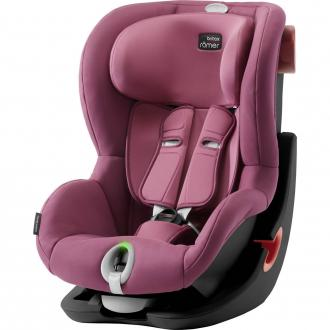 Автокресло Britax Romer King II LS Black Series (wine rose)