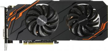 Видеокарта 8192Mb Gigabyte GeForce GTX1070 PCI-E 256bit GDDR5 DVI HDMI DP GV-N107TWF2-8GD Retail