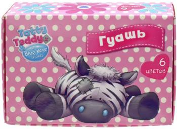 Гуашь Action! TATTY TEDDY 6 цветов BNF-AGP-6-E