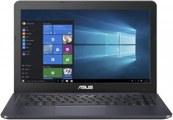 "Ноутбук Asus VivoBook E402WA-GA040 E2 6110/2Gb/500Gb/AMD Radeon R2/14""/HD (1366x768)/Endless/dk.blue/WiFi/BT/Cam"