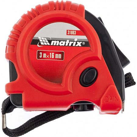 Рулетка Matrix 31003 3мx16мм рулетка matrix 31002