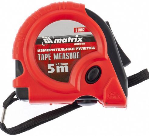 Рулетка Matrix Rubber 5мx19мм 31002 цена