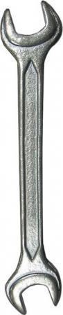 Ключ рожковый BIBER 90608 (13 / 17 мм) кованый оцинкованный ключ рожковый biber 90615 30 32 мм кованый оцинкованный