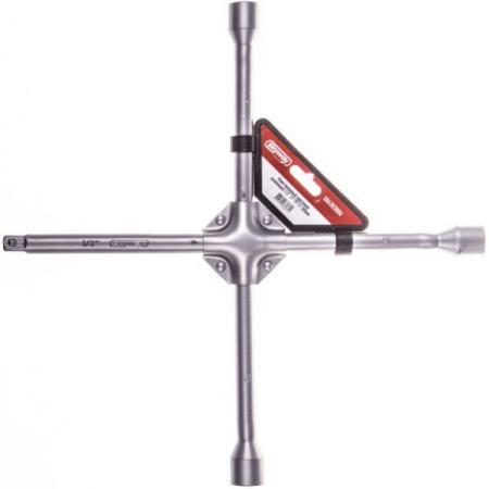 Ключ SKYWAY S04303006 балонный крестовой 17х19х21х1/2 380мм усиленный цена 2017